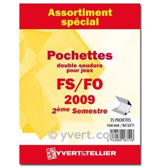 Assortiment de pochettes (double soudure) : 2009-2nd semestre
