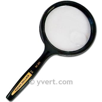 ROUND MAGNIFYING GLASS: 7,5cm