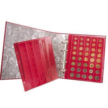 Álbum GALION + 4 BANDEJA rojo (EURO corrientes)