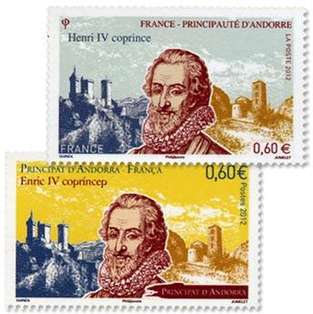 2012 - Joint issue-France-Andorra