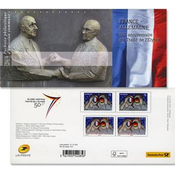2013 - Joint issue-France-Germany-(mounts)