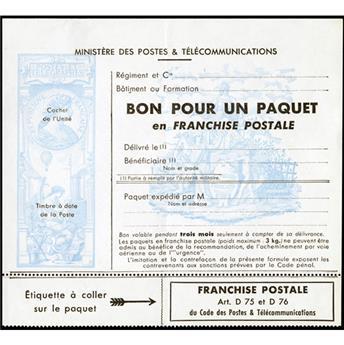 n° 15 - Selo França Franquia postal