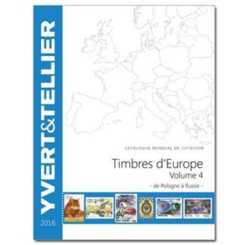 EUROPE Volume 4 - 2016 (Catalogue des timbres des pays d´Europe de P à R)