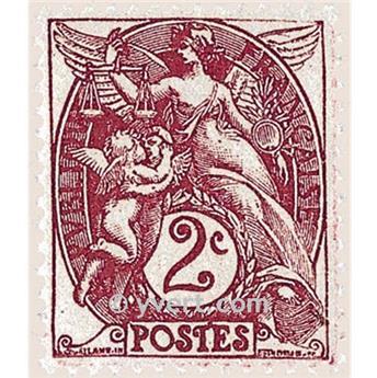 n.o 108 -  Sello Francia Correos