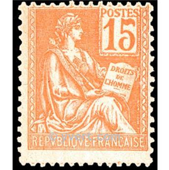n.o 117 -  Sello Francia Correos