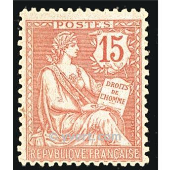 n.o 125 -  Sello Francia Correos