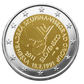 2 EURO COMMEMORATIVE 2011 : SLOVAQUIE