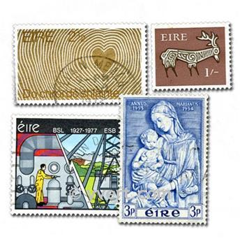 IRLANDA: lote de 200 sellos