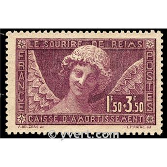 n.o 256 -  Sello Francia Correos