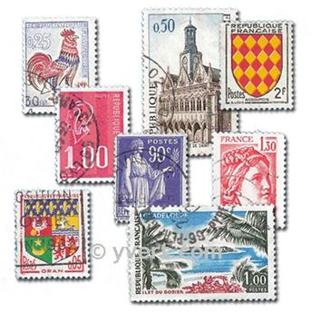 FRANCE: envelope of 800 stamps