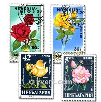 FLORE : pochette de 500 timbres