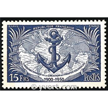 n° 889 -  Selo França Correios