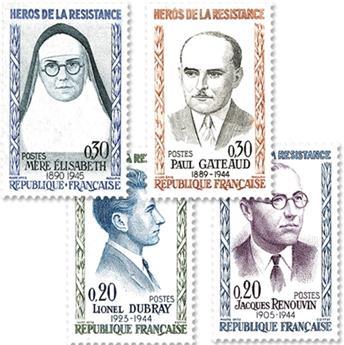 nr. 1288/1291 -  Stamp France Mail