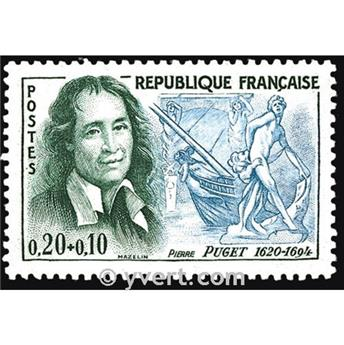 n° 1296 -  Timbre France Poste