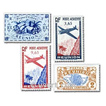REUNION CFA : pochette de 25 timbres