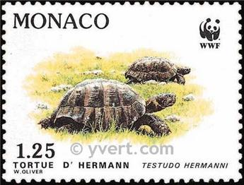 nr. 1805/1808f (sheet) -  Stamp Monaco Mail