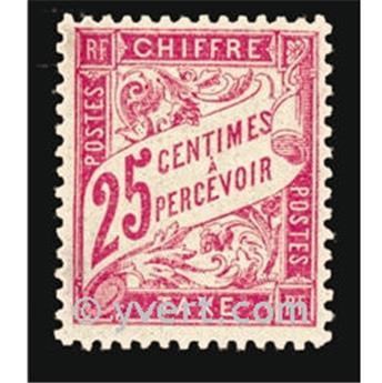 n° 32 -  Selo França Taxa