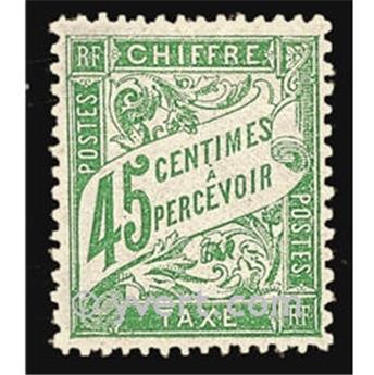 n° 36 -  Selo França Taxa