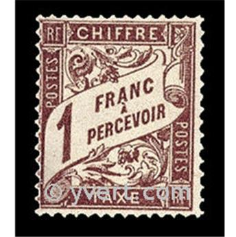 nr. 40A -  Stamp France Revenue stamp