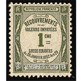 n° 43 -  Timbre France Taxe