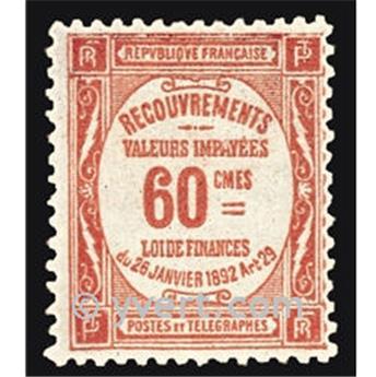 n° 48 -  Selo França Taxa
