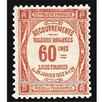 n° 48 -  Timbre France Taxe