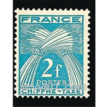 n.o 72 -  Sello Francia Tasa