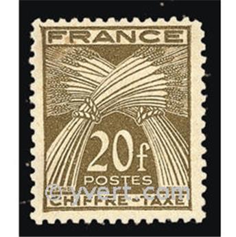 n.o 77 -  Sello Francia Tasa