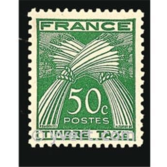 nr. 80 -  Stamp France Revenue stamp