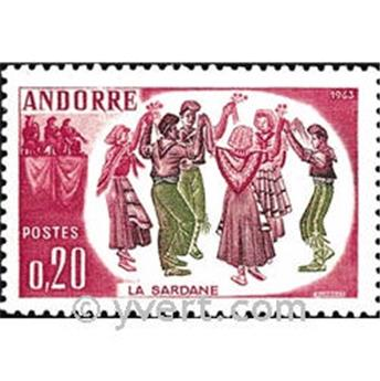n° 166 -  Selo Andorra Correios