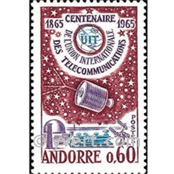 n° 173 -  Selo Andorra Correios