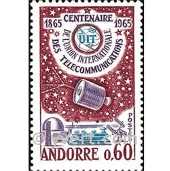 n° 173 -  Timbre Andorre Poste
