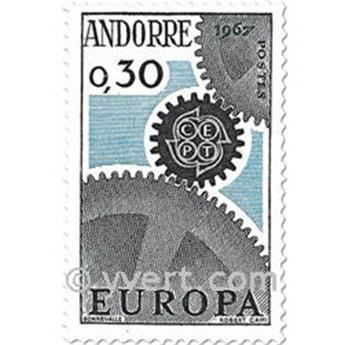 n° 179/180 -  Selo Andorra Correios