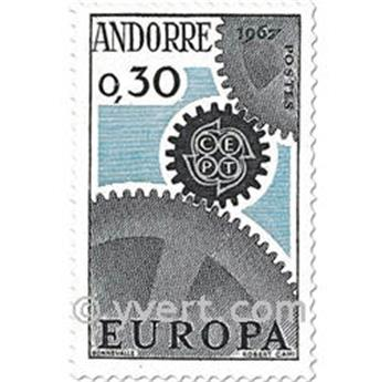 n° 179/180 -  Timbre Andorre Poste