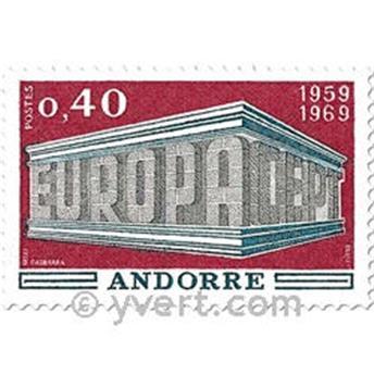 n° 194/195 -  Selo Andorra Correios