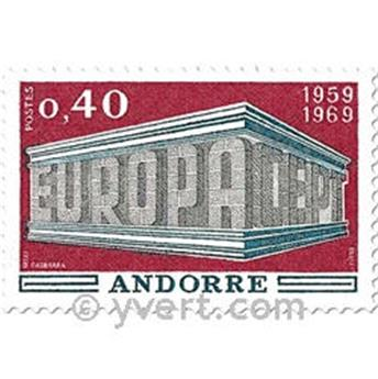 n° 194/195 -  Timbre Andorre Poste