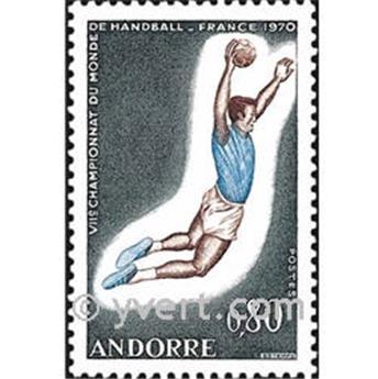 n.o 201 -  Sello Andorra Correos
