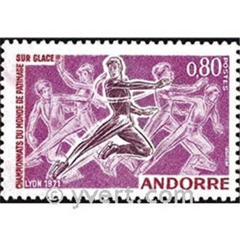 n° 209 -  Selo Andorra Correios