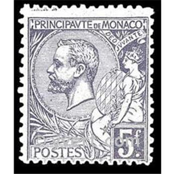 n° 46 -  Timbre Monaco Poste