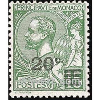 n° 51 -  Timbre Monaco Poste