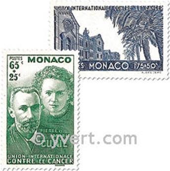 n° 167/168 -  Selo Mónaco Correios