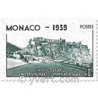 n.o 195/199 -  Sello Mónaco Correos