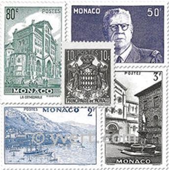 n° 249/264 -  Selo Mónaco Correios