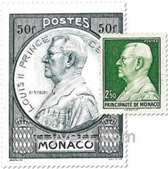n° 281/286 -  Timbre Monaco Poste