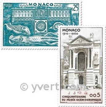 n° 526/531 -  Timbre Monaco Poste
