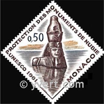 n° 553 -  Timbre Monaco Poste