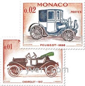 n.o 557/570 -  Sello Mónaco Correos