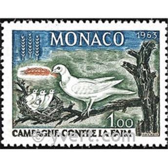 n° 611 -  Timbre Monaco Poste