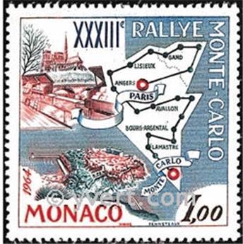 n° 616 -  Selo Mónaco Correios