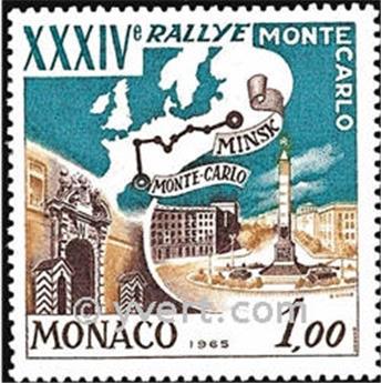nr. 662 -  Stamp Monaco Mail